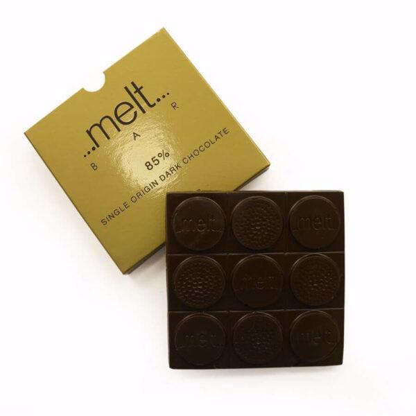 Melt 85% Ecuador dark chocolate bar