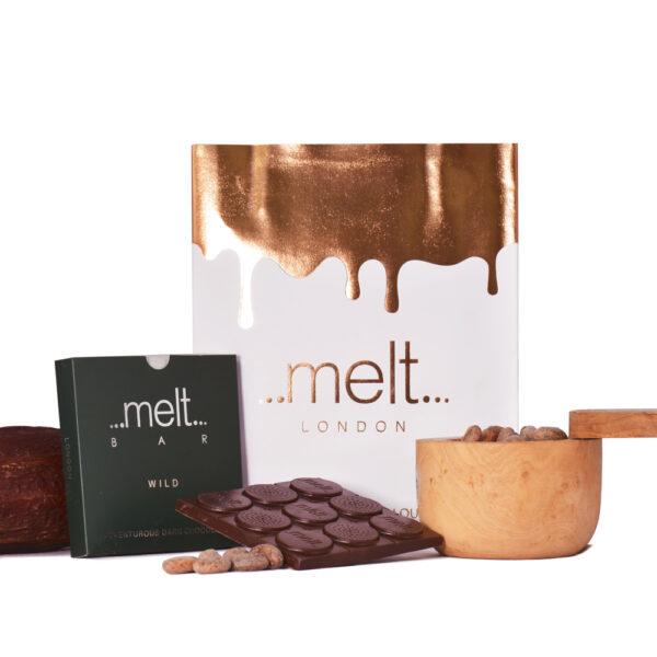 Melt 68% wild dark chocolate bar