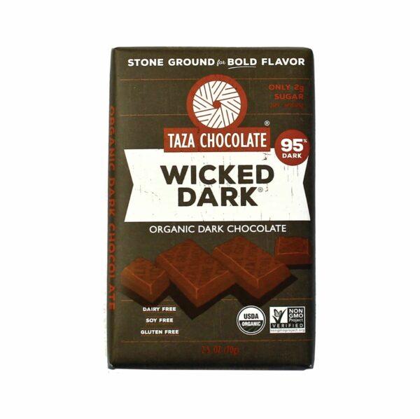 Taza 95% wicked dark