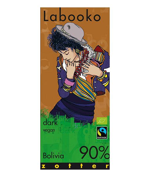 Zotter Labooko 90% bolivian dark chocolate