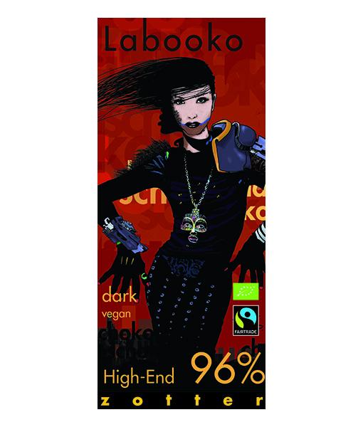 Zotter Labooko High End 96% dark chocolate