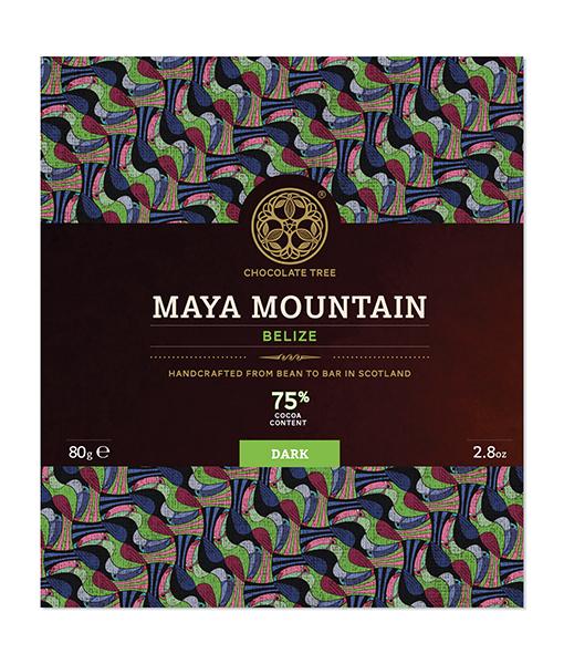 Chocolate Tree Belize Maya Mountain 75%