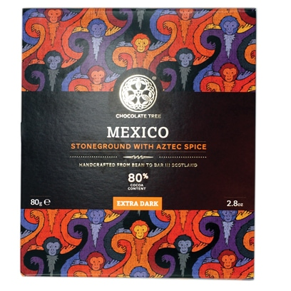 Chocolate Tree Mexico Aztec Spice 80%