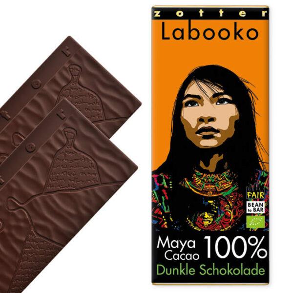 Zotter Labooko 100% Maya Cacao