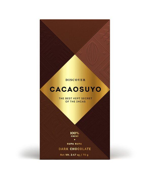Cacaosuyo Rupa Rupa 100% dark chocolate