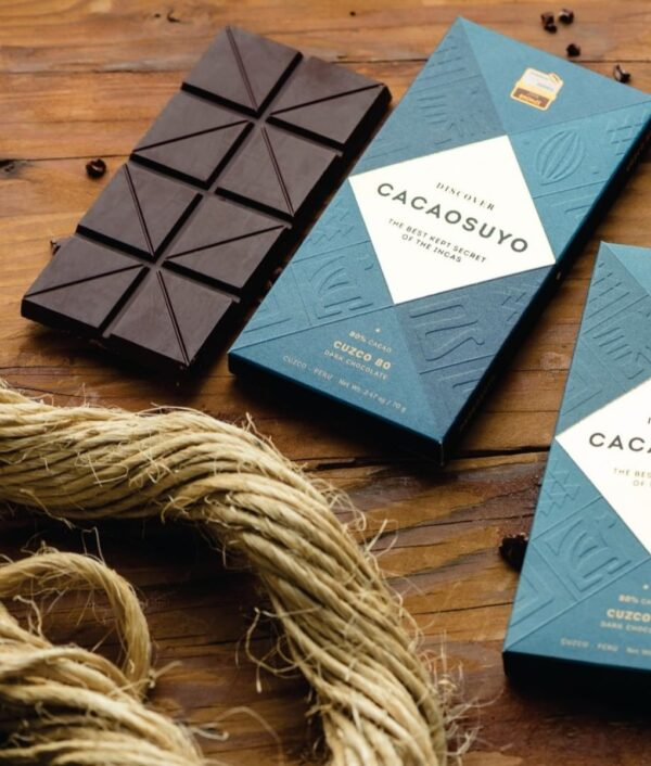 Cacaosuyo Cuzco 80% dark chocolate