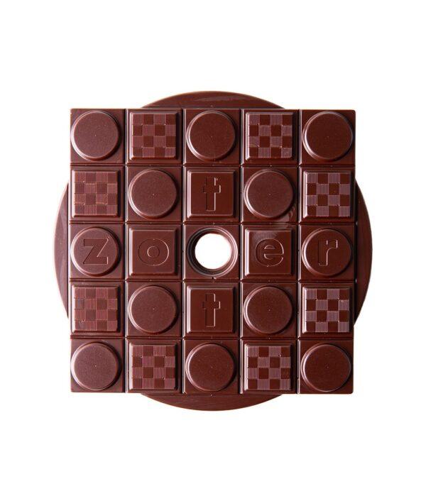 Zotter 'Squaring the Circle' 100% dark chocolate