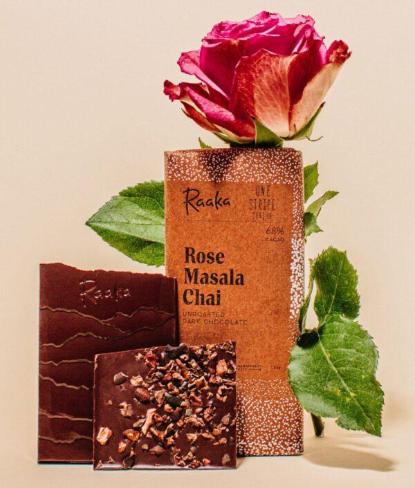 Raaka Rose Masala Chai 68%